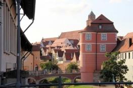 Donauwörth, Rieder Tor und Altstadt