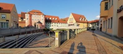 Donauwörth, Rieder Tor von der Ried-Insel