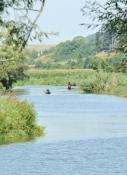 Kanuten auf der Wörnitz
