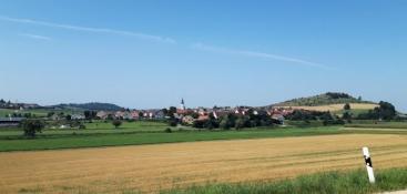 Landschaft bei Hoppingen