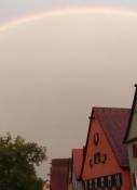Regenbogen über Dinkelsbühl