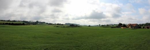 Landschaft bei Lehengütingen
