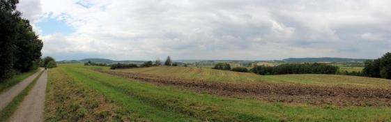 Landschaft bei Oberoestheim