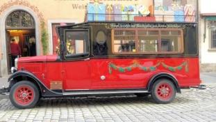 Rothenburg, Käthe Wohlfahrt Bus