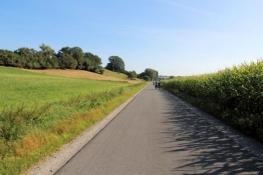 Aischtalradweg vor Gutenstetten