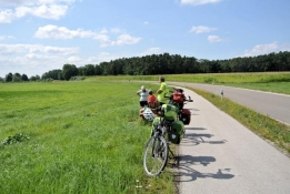 Pause am Wegesrand bei Willersdorf