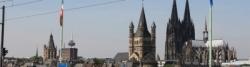 Köln, Blick auf die Altstadt