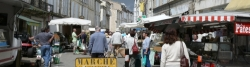Lectoure,  Markt