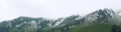 Neuschnee in den Kitzbüheler Alpen