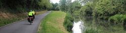 Loire-Radweg bei Bonny-sur-Loire