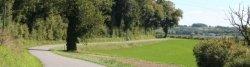 Radweg bei Nonaville