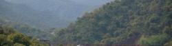 Abfahrt auf der D900 nach Le Perthus