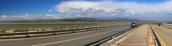 Rundblick Hafenbrücke Port Leucate
