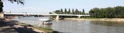 Die Theiß/Tisza in Szeged
