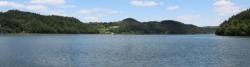 """Der Dunajec aufgestaut zum """"Jezioro Czchowskie"""""""