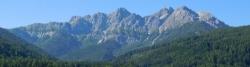 von Radweg vor Oberolang (Olanger Dolomiten)