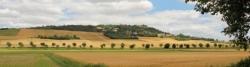 Landschaft bei Port Laurgais