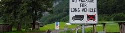 Linthal: Beginn der Klausenstraße