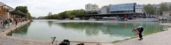 Paris, Bassin de la Villette