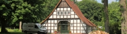 Small half-timbered house near Nordhausen