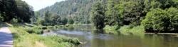 In the Regen valley between Hirschling and Stefling