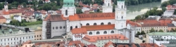 Passau seen from the Fortress Oberhaus